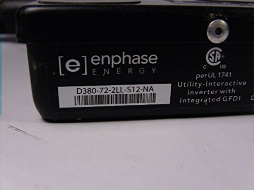 Enphase D380-72-2LL-S12-NA Interactive Inverter W/GFDI: Amazon.com on