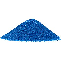 NW Wholesaler - 1 lb Bright Fine Floral Sand for Vases, Planters and Pots, Terrariums, Aquariums, Fairy Garden, and Arts & Crafts (Blue Hawaii)