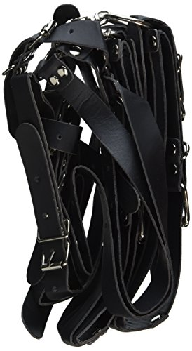 Crazycity Hot Eagle Sling Faux Leather Easy Access to Thighs Hands Restraint Sling Spreader Sex Bed Restraint Fetish Fantasy Toys Extreme Bdsm for Fetish Kinky SEX Love Games ~ Unisex Restraint Binder by E-Eyes