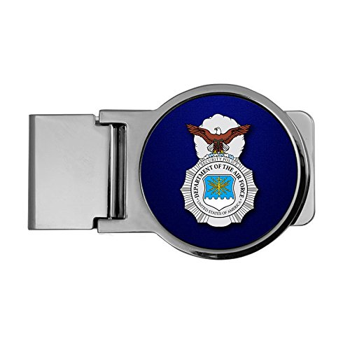 ExpressItBest Premium Money Clip - US Air Force Security Forces (AFSC), badge - Badge Security Forces