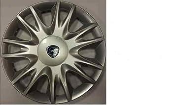 Juego de Tapacubos 4 Y Diseño Tapacubos Lancia Ypsilon Desde 2011 r 15: Amazon.es: Coche y moto