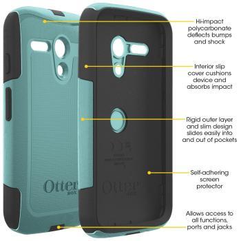OtterBox Commuter Series Case for Motorola Moto G. Motorola Moto G phone case