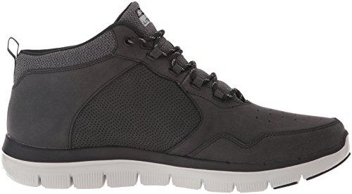Skechers Uomo Flex Vantaggio 2.0 Scarpe Da Corsa Nere (nero)
