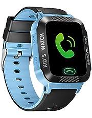 Queen.Y Smart Horloge Touchscreen voor Kinderen Jongens Meisjes Smart Horloges Remote Camera SOS LBS Locator Positie Tracker