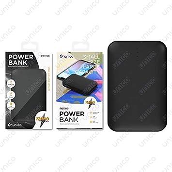 Unico PB1019 - Batería Portátil Externa de 12000mAh Cargador ...