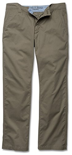 Toad&Co Men's Mission Ridge Pant, Dark Chino, 33 X 32