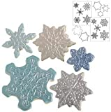 Autumn Carpenter Designs Snowflake Cookie Cutter & Impression Mat Set by Autumn Carpenter