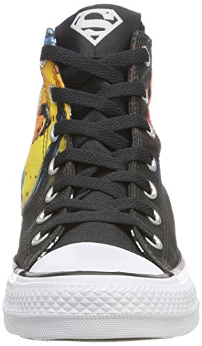 Adulte Hautes Black Converse CTAS White Multicolore Baskets Noir Black Black Mixte White 001 Hi ww604