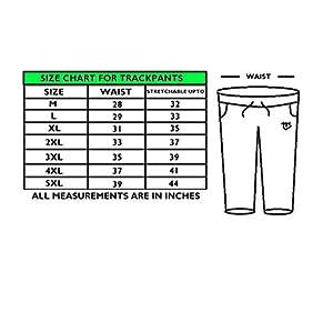 MARK LOUIIS Men's Loose Fit Trackpants