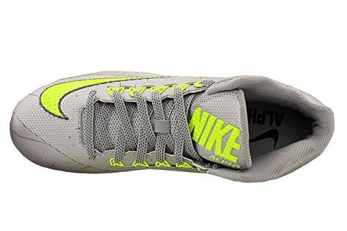 Nike Mens Alpha Pro 2 Tacchetta Da Calcio Argento Metallizzato / Grigio Scuro / Volt