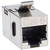 TRIPP LITE N235-001-SH Cat6 Straight Modular In-Line Snap-In Coupler RJ45 F/F TAA GSA
