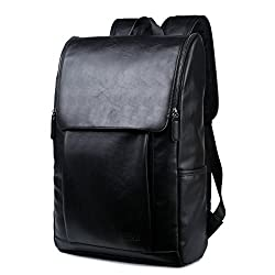 2858caadb3a46 BAOSHA BP-25 Kunstleder PU Leder Vintage Unisex School Student Laptop 15.6″  Rucksack Wanderrucksack