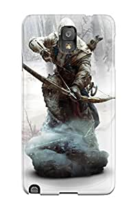 Best New Super Strong Ratonhnhaketon Assassin's Creed 3 Tpu Case Cover For Galaxy Note 3 3446789K85221623