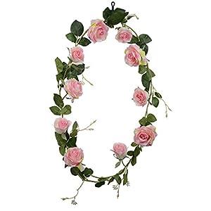 DALAMODA 玫瑰花藤-Artificial Rose Vine Pack of 2 41