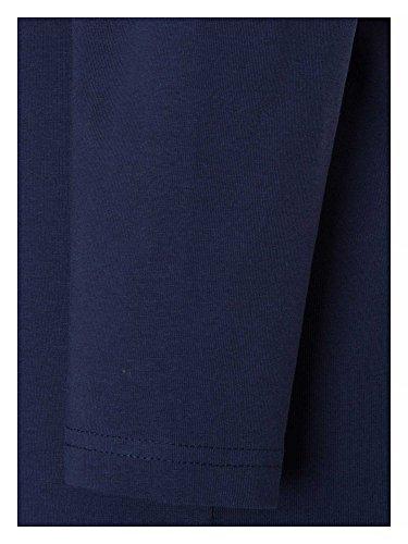 Sheego Casual Basic Kleid, Vestido para Mujer Azul Marino