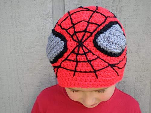 Multi Amazings Spiderman hat Needlework - Marvel Inspired Crochet hat