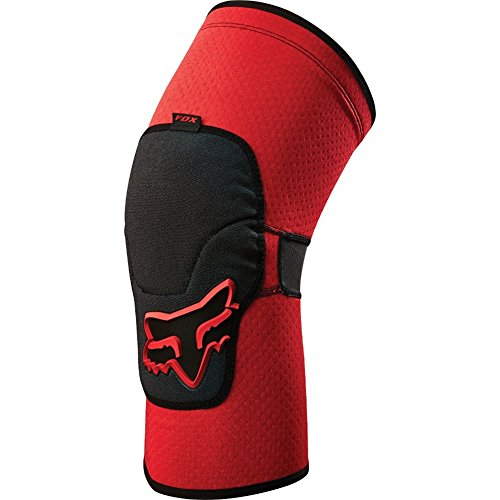 887537925026 - Fox Racing Launch Enduro Adult Knee/Shin Guard MX Motorcycle Body Armor - Red / Large carousel main 0