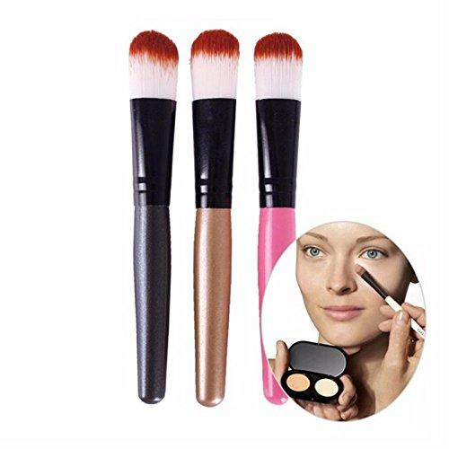 Pinceis maquiagem Hot pincel de corretivo Cosmetic Makeup Brushes Liquid Cream Foundation Concealer Brush PL6
