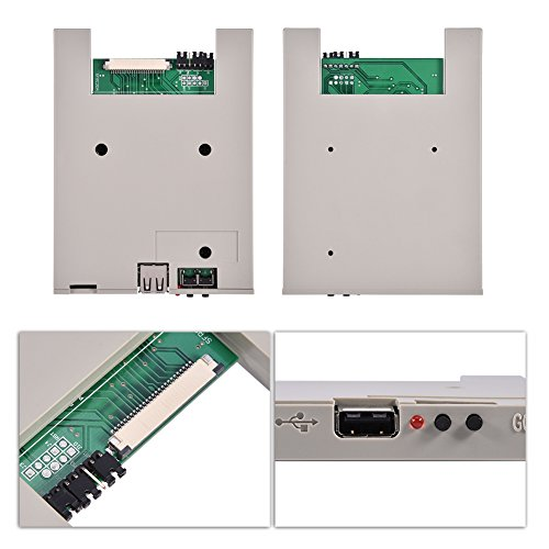 Richer-R Usb Emulator, SFRM72-DU26 720K USB Floppy Drive Emulator with High Security Data Protection, Easy to install and User-friendly for BARUDAN BENS Embroidery Machine by Richer-R (Image #4)'