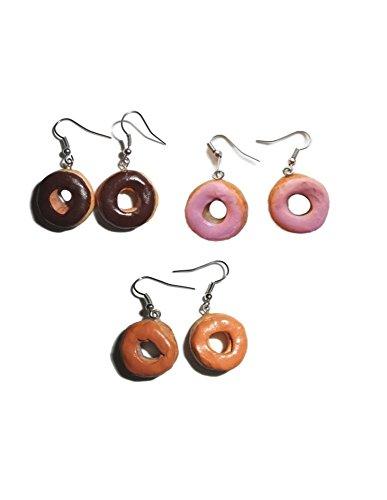 fake-doughnut-earrings-choice-of-flavor