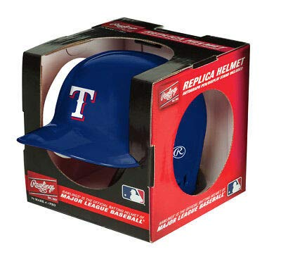 MLB Texas Rangers Mini Replica Helmet, Blue