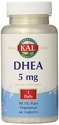 KAL DHEA-5 Tablets, 5mg, 60 Count