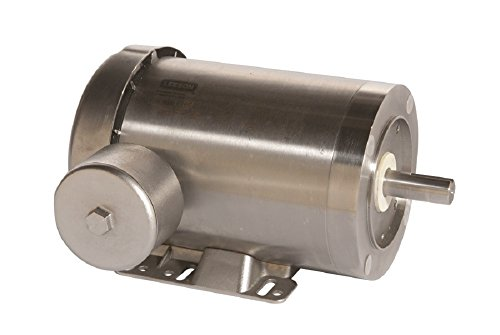 Leeson 121882.00 Extreme Duck Washguard Motor, 3 Phase, 145TC Frame, Rigid Mounting, 2HP, 1800 RPM, 208-230/460V Voltage, 60/50Hz Fequency by Leeson
