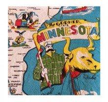 State Dish Towel - Minnesota State Souvenir Dish Towel