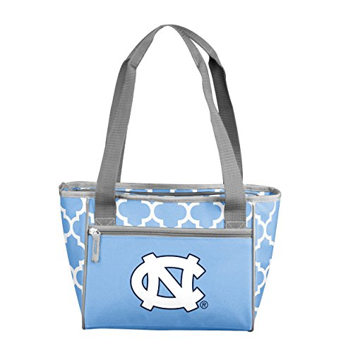 - Logo Brands NCAA North Carolina Tar Heels 16 Cooler Can Tote, Powder, One Size