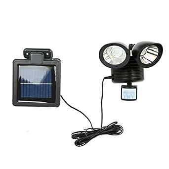 Nrpfell 22 LED Dual Luz de La Mancha Solar de Detector de ...
