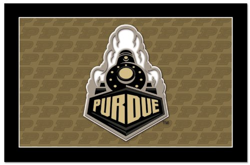 NCAA Purdue Boilermakers Paper Placemat with Team Logo (Purdue Boilermakers Game Table)