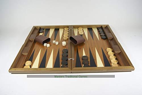 (Dal Negro Oxford Walnut Backgammon Set )