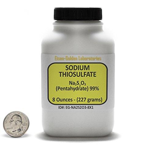 Qualité de ACS de 99 % de Thiosulfate de sodium [Na2S2O3] poudre 8 Oz dans une bouteille, é.-u.