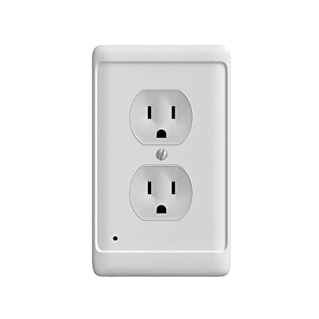 Aodigesa Outlet Wall Plate With Led Night Lights Auto Sensor Light
