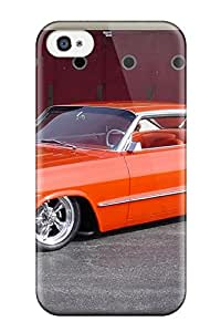 Tpu Fashionable Design 1963 Impala Rugged Case Cover For Iphone 4/4s New