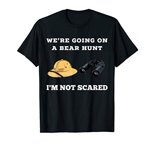 Going on a Hunt For Bears Gear Preschoolers T-Shirt