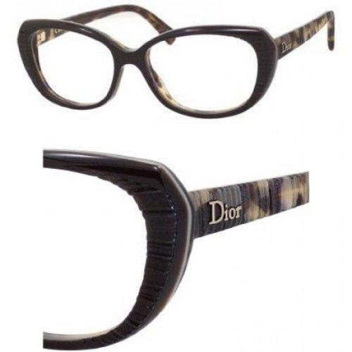 Dior Montures de lunettes CD3248 Pour Femme Spotted Tortoise, 52mm SN2: Tortoise
