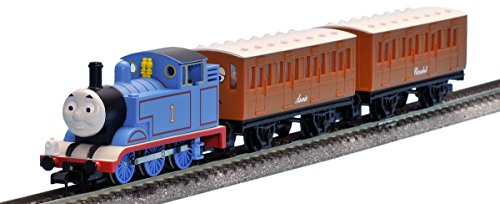 Tomix 93810 Thomas Tank Engine & Friends Thomas 3 Cars Set (N Scale ) 1/150