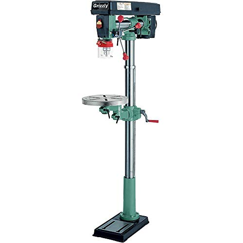 "Grizzly Industrial G7946-34"" Floor Radial Drill Press"