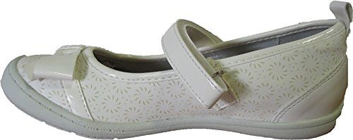 Ballerines blanches pour filles