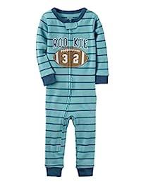 Carter's Baby Boys' 1-Piece Snug Fit Footless Cotton Pajamas