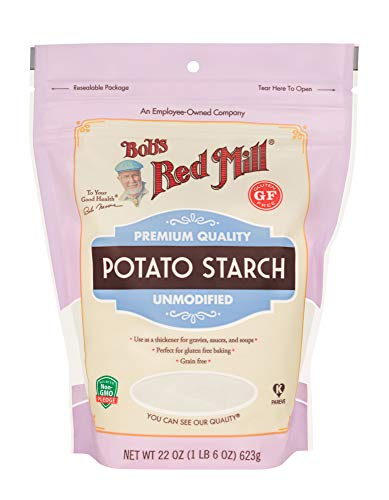 - Bob's Red Mill Resealable Gluten Free Potato Starch, 22 Oz (4 Pack)