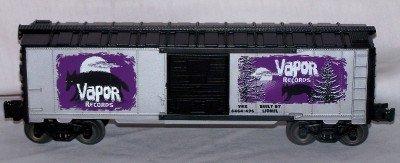 Lionel Trains Vapor Records 6464 Boxcar #1 in series Halloween (Lionel 6464 Boxcar)