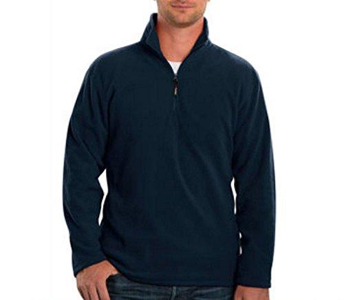 Men's Polartec® Fleece (Medium, Navy)