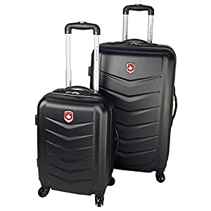 Canada Lightweight Hard Side Wheeled Suitcase 2 Piece