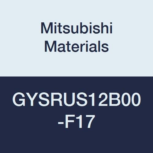 4.500 L Mitsubishi Materials GYSRUS12B00-F17 Series GY Mono Block External Grooving Holder for Small Lathe 0/° Angle 0.669 Grooving Depth 0.118//0.125//0.128 Seat Right 0.750 W 0.750 H
