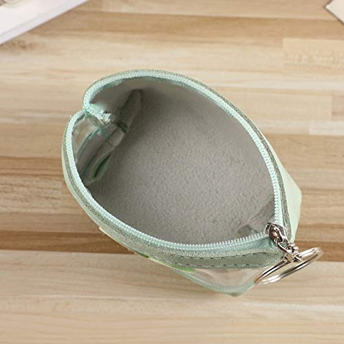Purse Coin Lady Couleur Zhuhaimei new Leger Candy Zip Aquamarine Transparent Jelly qEOxtp6w