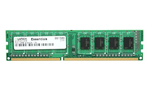 Mushkin Enhanced 2GB Essentials DDR3 1333MHz PC3 10666-240-Pin Desktop Memory Model 991586