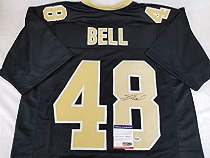 cheap for discount eaf36 bbccc Autographed Vonn Bell Jersey - COA #AE51287 - PSA/DNA ...