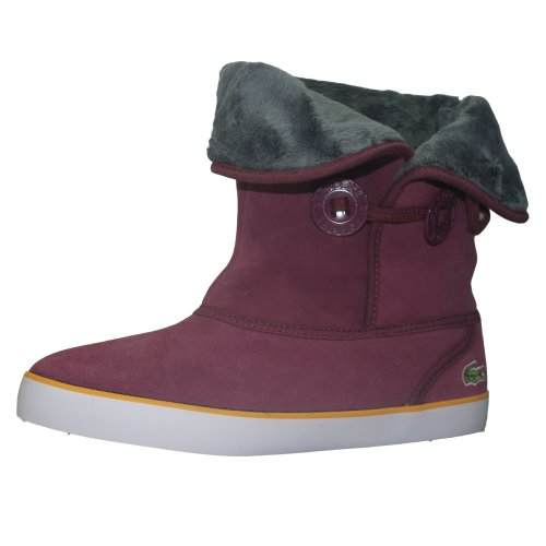Brier Dark Women's Boots Lacoste Suede Purple 5wPSIdxq6